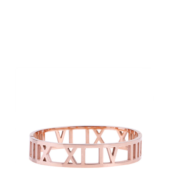 The Peach Box: Roman Empress Bangle Rose Gold - Luxe Gifts™  - 1