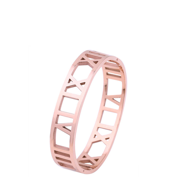 The Peach Box: Roman Empress Bangle Rose Gold - Luxe Gifts™  - 2
