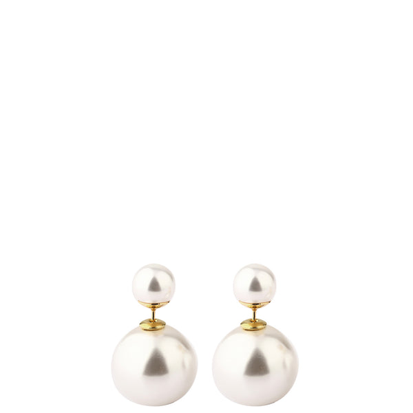 The Peach Box: Audrey Pearl Stud Earrings - Luxe Gifts™  - 1