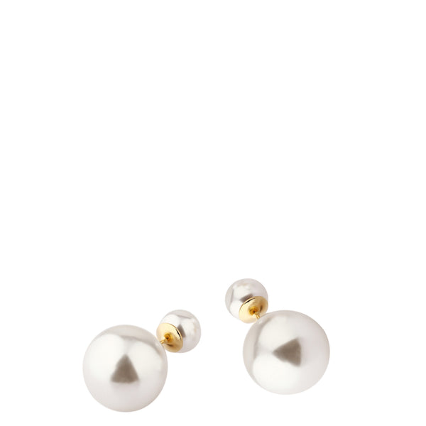 The Peach Box: Audrey Pearl Stud Earrings - Luxe Gifts™  - 2