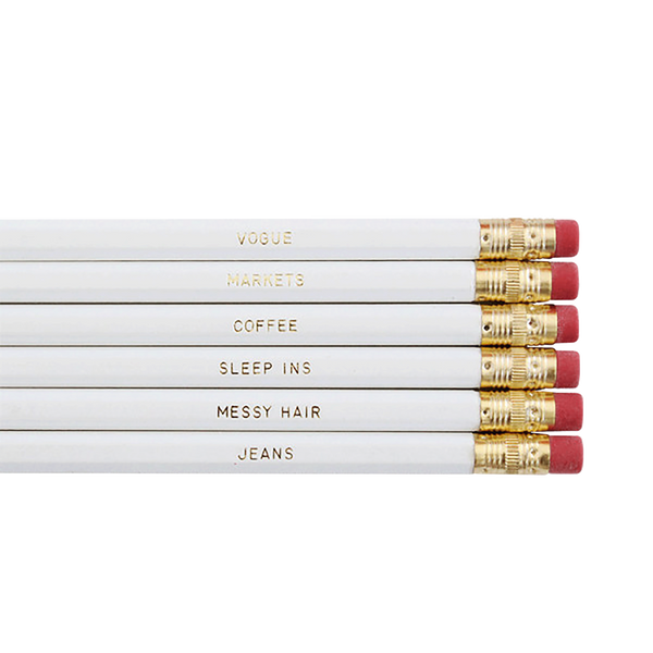 Miss Poppy Design: Sundays Pencil Set - Luxe Gifts™  - 2
