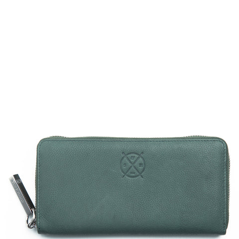 Stitch and Hide: Christina Wallet Teal - Luxe Gifts™  - 1