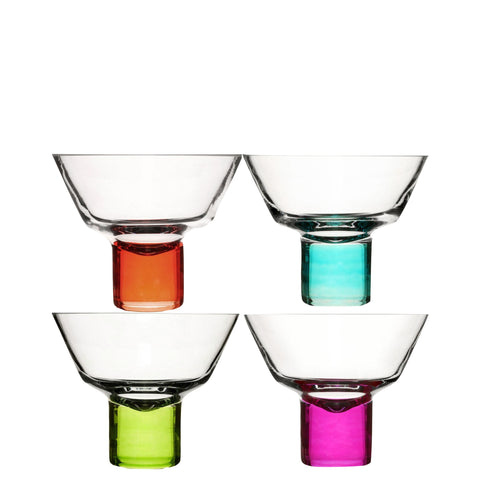 Sagaform: Club Martini Glasses 4 Set - Luxe Gifts™