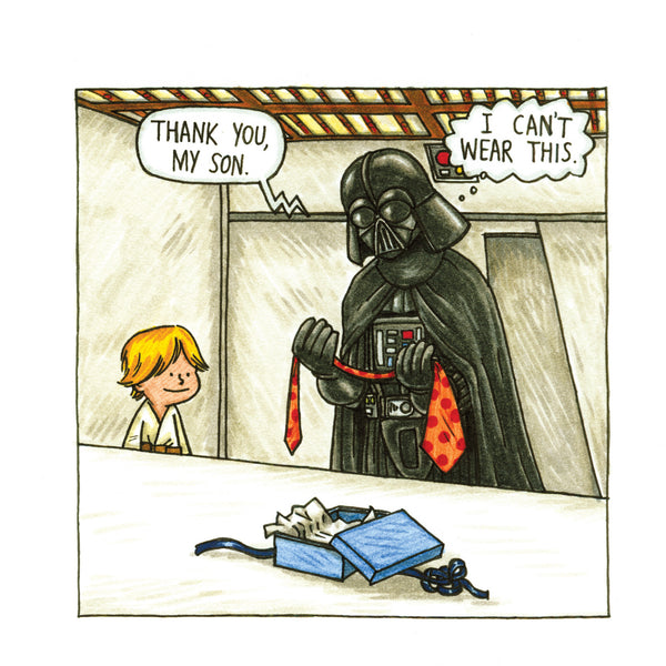 Darth Vader and Son - Luxe Gifts™  - 2