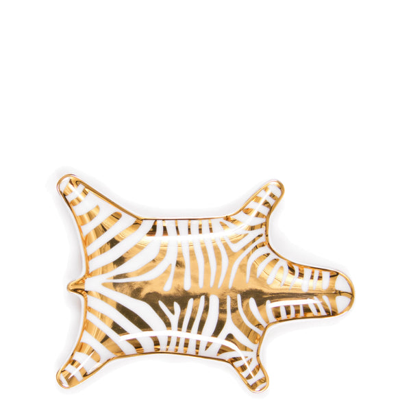 Jonathan Adler Gold Zebra Stacking Dish - Luxe Gifts™  - 1