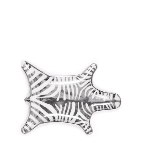 Jonathan Adler Silver Zebra Stacking Dish - Luxe Gifts™  - 1