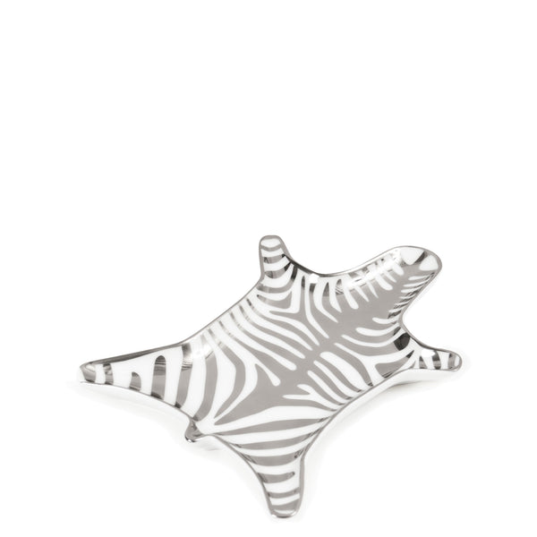 Jonathan Adler Silver Zebra Stacking Dish - Luxe Gifts™  - 2