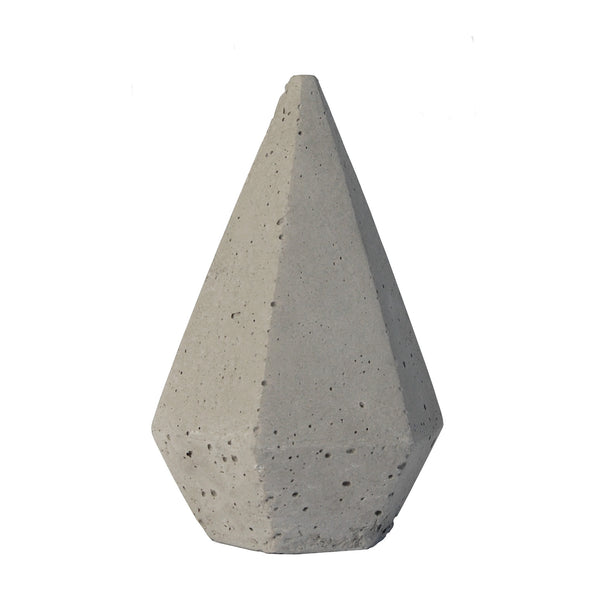 Zakkia: Concrete Diamond Large - Luxe Gifts™  - 1