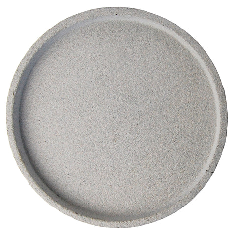 Zakkia: Concrete Round Tray Natural - Luxe Gifts™