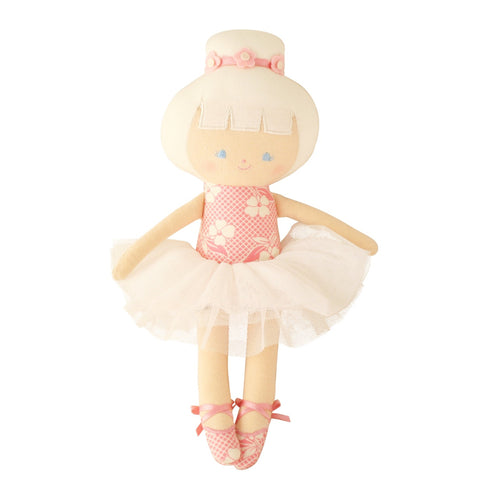 Alimrose: Baby Ballerina Doll Pink Petals - Luxe Gifts™