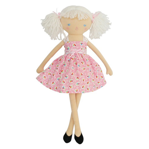 Alimrose: Maisie Doll Floral Cherries - Luxe Gifts™
