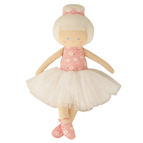 Alimrose: Large Ballerina Doll Pink Petals - Luxe Gifts™