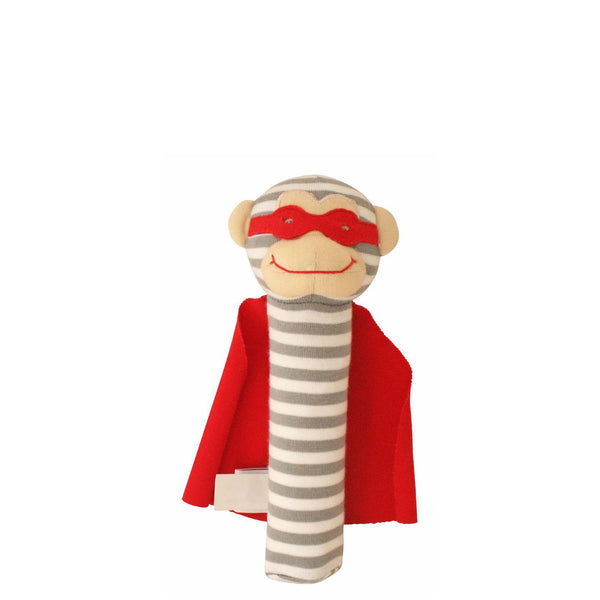 Alimrose: Monkey Squeaker Super Hero - Luxe Gifts™