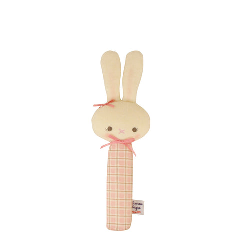 Alimrose: Hannah Squeaker Bunny Pink Cinnamon - Luxe Gifts™