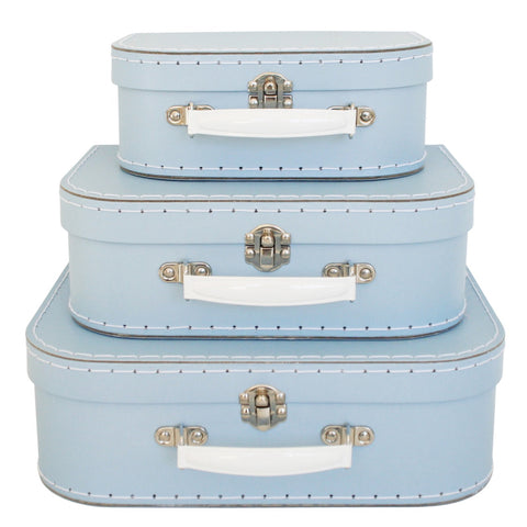 Alimrose: Kids Carry Case Set Pale Blue - Luxe Gifts™