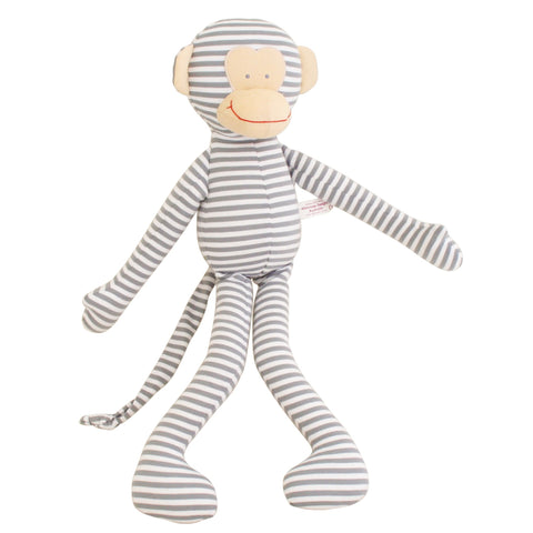 Alimrose: Big Cuddle Monkey Grey Stripe - Luxe Gifts™