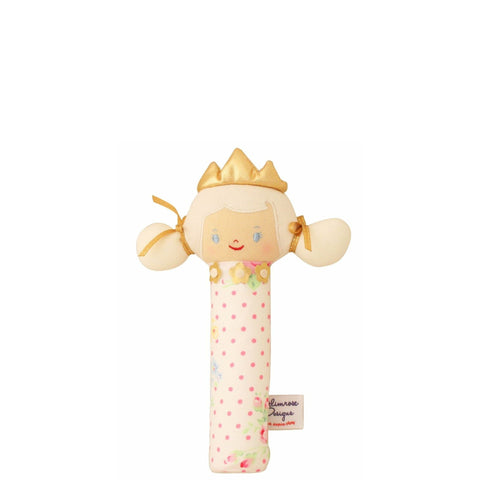 Alimrose: Princess Hand Squeaker in Pink, White and Rose - Luxe Gifts™