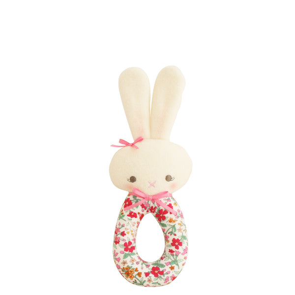 Alimrose: Hannah Bunny Grab Rattle Flower Bouquet - Luxe Gifts™