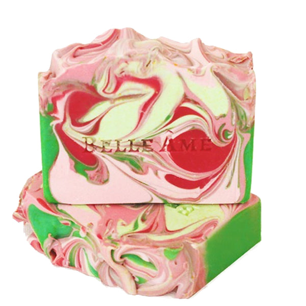 Belle Ame: Crisp Apple and Rose Natural Soap - Luxe Gifts™