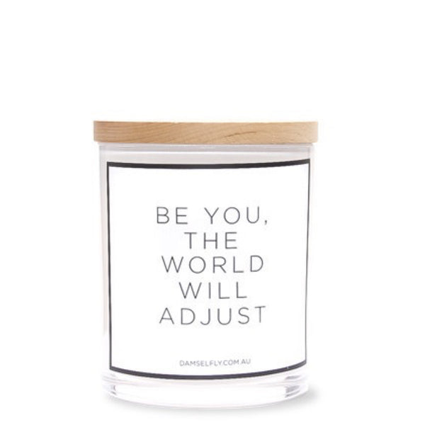 Damselfly: Be you, the World will adjust - Luxe Gifts™  - 1