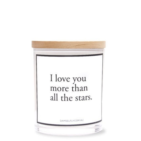 Damselfly: I love you more than the stars - Luxe Gifts™  - 1