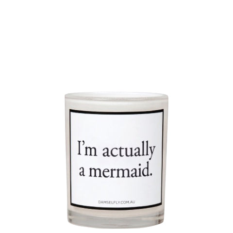 Damselfly: I'm actually a Mermaid - Luxe Gifts™  - 1