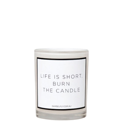 Damselfly: Life is short burn the candle - Luxe Gifts™  - 1