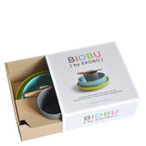 Biobu Bamboo Dinner Set Blue - Luxe Gifts™  - 4