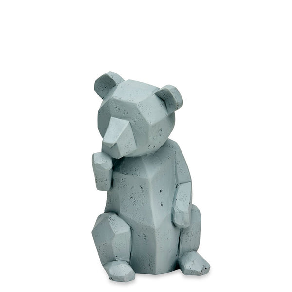 Geo Teddy Sitting Grey - Luxe Gifts™