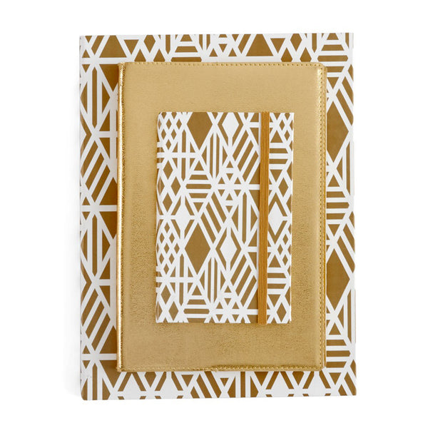 Gold Deco Notebook Large - Luxe Gifts™  - 2