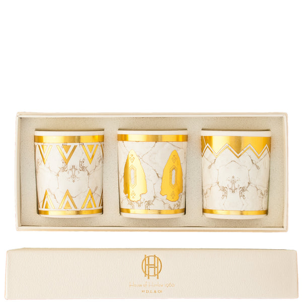 House of Harlow 1960: White Howlite Gift Set - Luxe Gifts™  - 1