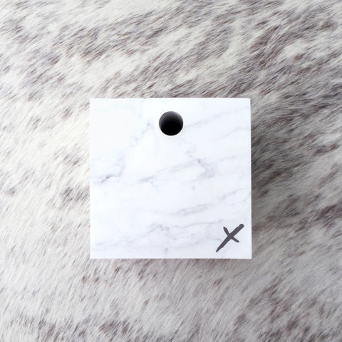 Jot it down: Marble Memo Cube - Luxe Gifts™  - 1