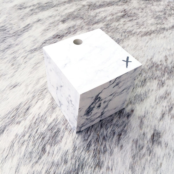 Jot it down: Marble Memo Cube - Luxe Gifts™  - 2
