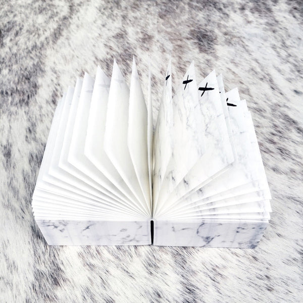 Jot it down: Marble Memo Cube - Luxe Gifts™  - 3