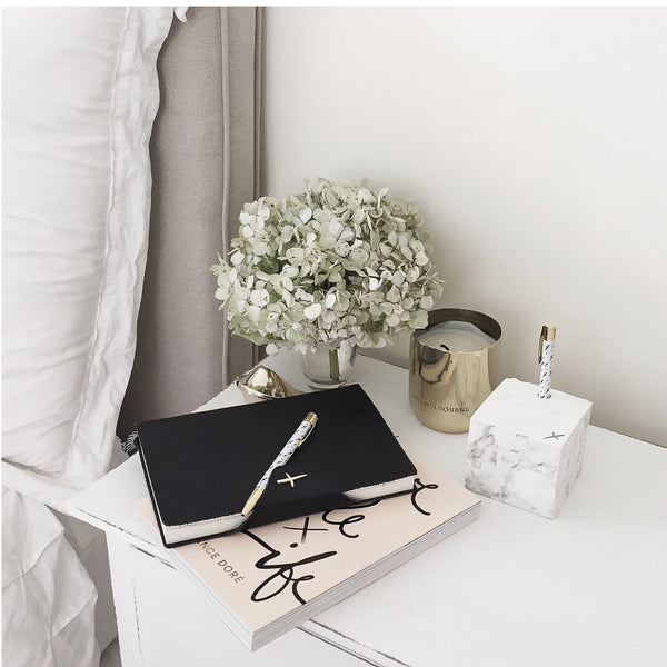 Jot it down: Marble Memo Cube - Luxe Gifts™  - 4