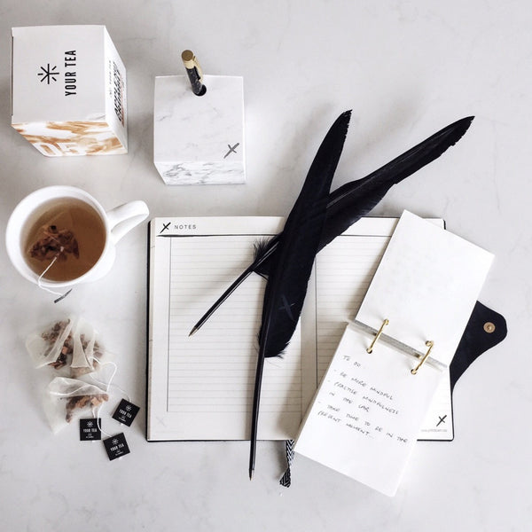 Jot it down: Marble Memo Cube - Luxe Gifts™  - 7