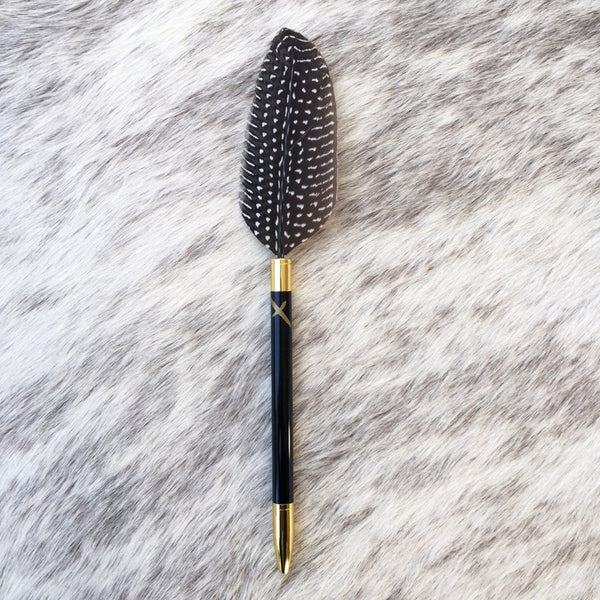 Jot it down: Phoenix Feather Pen Speckled - Luxe Gifts™  - 1