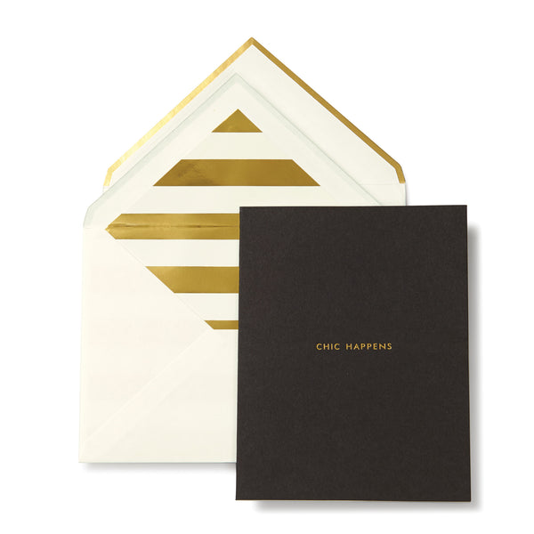 Kate Spade New York: Chic Happens Greeting Card - Luxe Gifts™