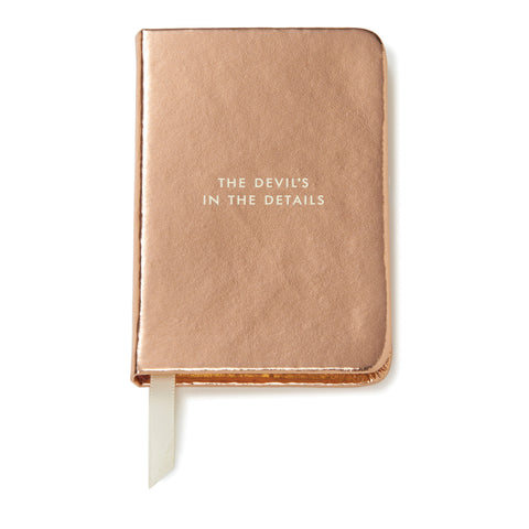 Kate Spade New York: Take Note Mini Notebook Rose Gold - Luxe Gifts™