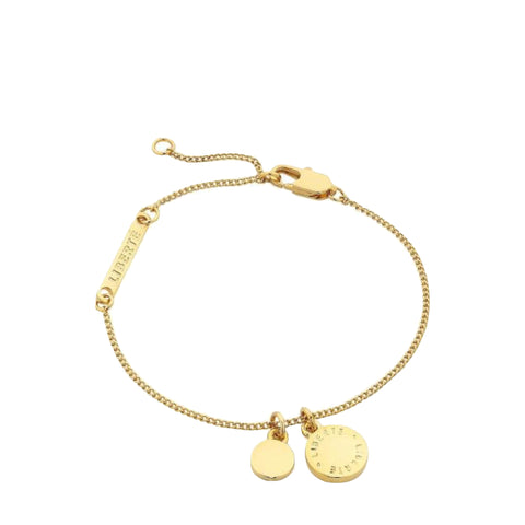 Liberte: Alexi Gold Bracelet - Luxe Gifts™  - 1