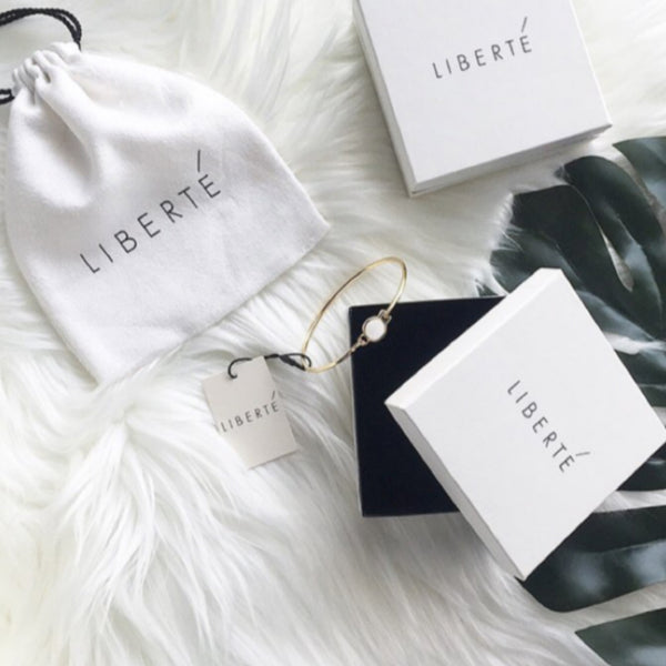 Liberte: Jax Bangle Vanilla - Luxe Gifts™  - 3