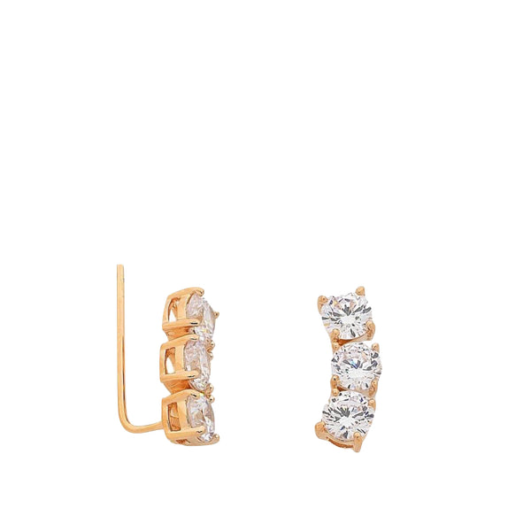 Liberte: Queenie Rose Gold Earring - Luxe Gifts™  - 1