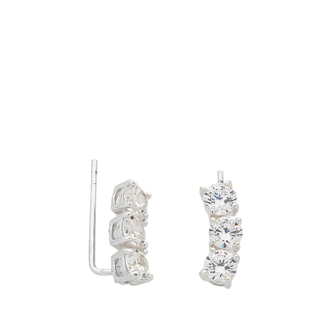 Liberte: Queenie Silver Earring - Luxe Gifts™  - 1
