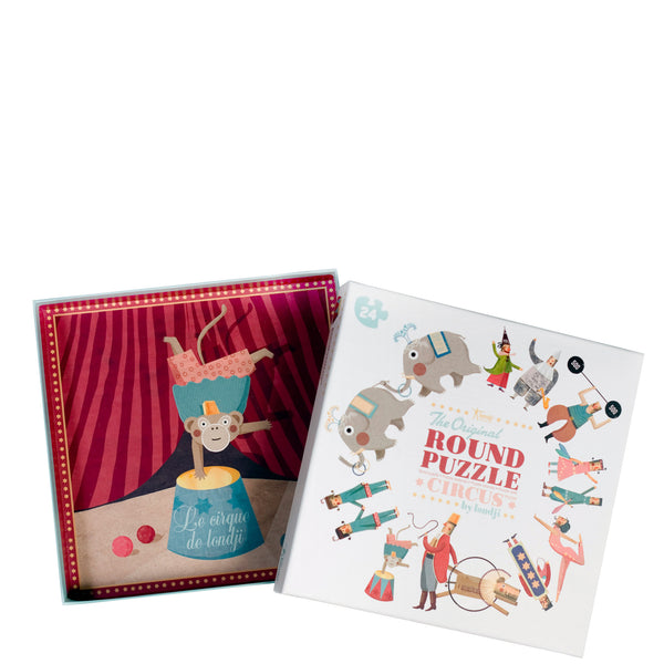 Londji: My Round Puzzle Circus - Luxe Gifts™  - 2