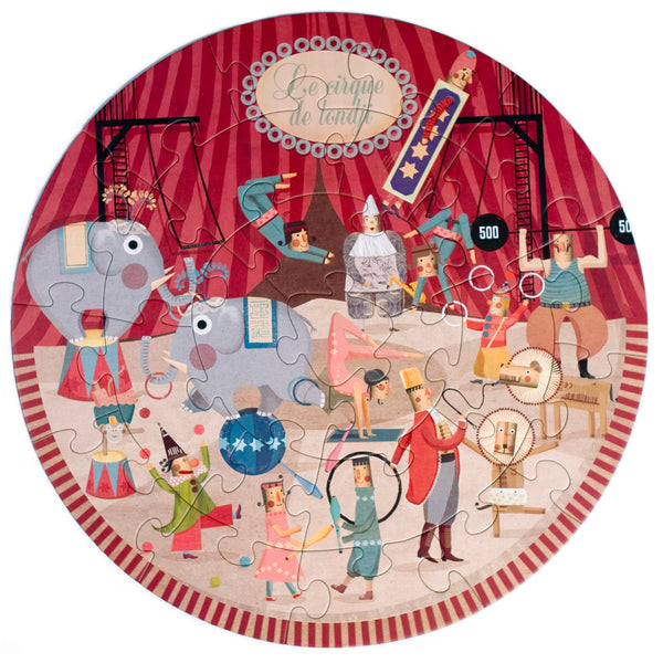 Londji: My Round Puzzle Circus - Luxe Gifts™  - 3