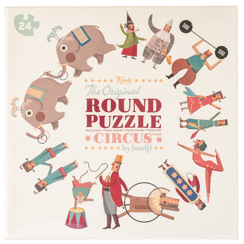 Londji: My Round Puzzle Circus - Luxe Gifts™  - 1