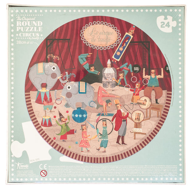 Londji: My Round Puzzle Circus - Luxe Gifts™  - 4