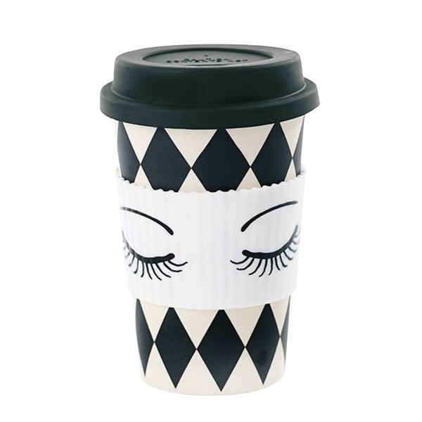 Miss Etoile Eyes Closed Travel Mug