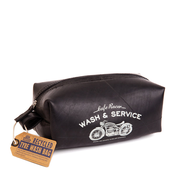 Cafe Racer Recycled Tyre Washbag - Luxe Gifts™