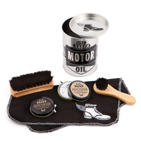 Cafe Racer Boot Shine Kit - Luxe Gifts™  - 1